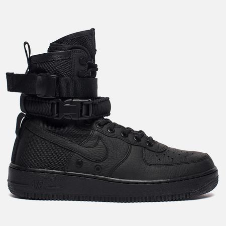 Мужские кроссовки Nike Special Field Air Force 1 Black/Black/Black