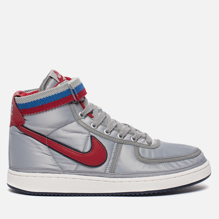Мужские кроссовки Nike Vandal High Supreme QS Metallic Silver/University Red