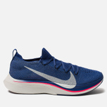 Мужские кроссовки Nike VaporFly 4% Flyknit Deep Royal Blue/Ghost Aqua/Red Orbit фото- 0