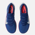 hot sales 991ee 87b71 Мужские кроссовки Nike VaporFly 4% Flyknit Deep Royal Blue Ghost Aqua Red  Orbit