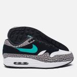 Мужские кроссовки Nike x atmos Air Max 1 Premium Retro Elephant Black/Clear Jade/White фото- 1