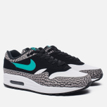 Мужские кроссовки Nike x atmos Air Max 1 Premium Retro Elephant Black/Clear Jade/White фото- 2