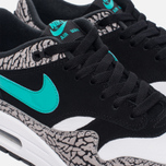 Мужские кроссовки Nike x atmos Air Max 1 Premium Retro Elephant Black/Clear Jade/White фото- 3