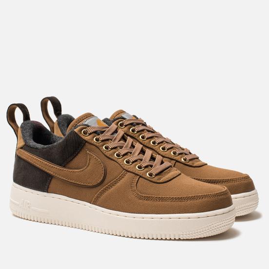 Мужские кроссовки Nike x Carhartt WIP Air Force 1 '07 PRM Ale Brown/Ale Brown/Sail