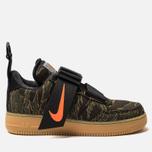 Мужские кроссовки Nike x Carhartt WIP Air Force 1 Utility Low PRM Camo Green/Total Orange/Gum Light Brown фото- 0