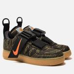 Мужские кроссовки Nike x Carhartt WIP Air Force 1 Utility Low PRM Camo Green/Total Orange/Gum Light Brown фото- 2