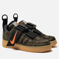 Кроссовки Nike x Carhartt WIP Air Force 1 Utility Low PRM Camo Green/Total Orange/Gum Light Brown