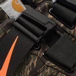 Мужские кроссовки Nike x Carhartt WIP Air Force 1 Utility Low PRM Camo Green/Total Orange/Gum Light Brown фото- 6