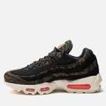 Мужские кроссовки Nike x Carhartt WIP Air Max 95 Black/Total Orange/Sail фото- 1