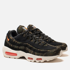 Мужские кроссовки Nike x Carhartt WIP Air Max 95 Black/Total Orange/Sail