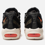 Мужские кроссовки Nike x Carhartt WIP Air Max 95 Black/Total Orange/Sail фото- 3