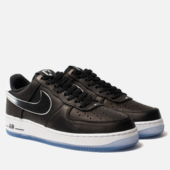 Мужские кроссовки Nike x Colin Kaepernick Air Force 1 07 QS Black/Black/White