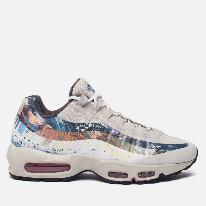 Кроссовки Nike x Dave White x size? Air Max 95 Rabbit Stone/Thunder/Light Bone