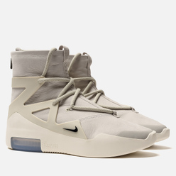 Мужские кроссовки Nike x Fear Of God Air 1 Light Bone/Black
