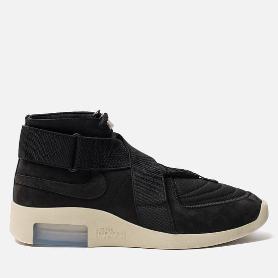 Мужские кроссовки Nike x Fear Of God Air 1 Raid Black/Black/Fossil