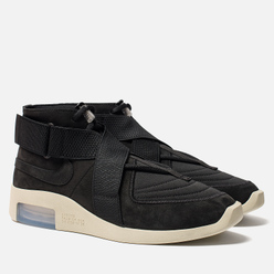 Мужские кроссовки Nike x Fear Of God Air 1 Raid Black/Black/Fossil