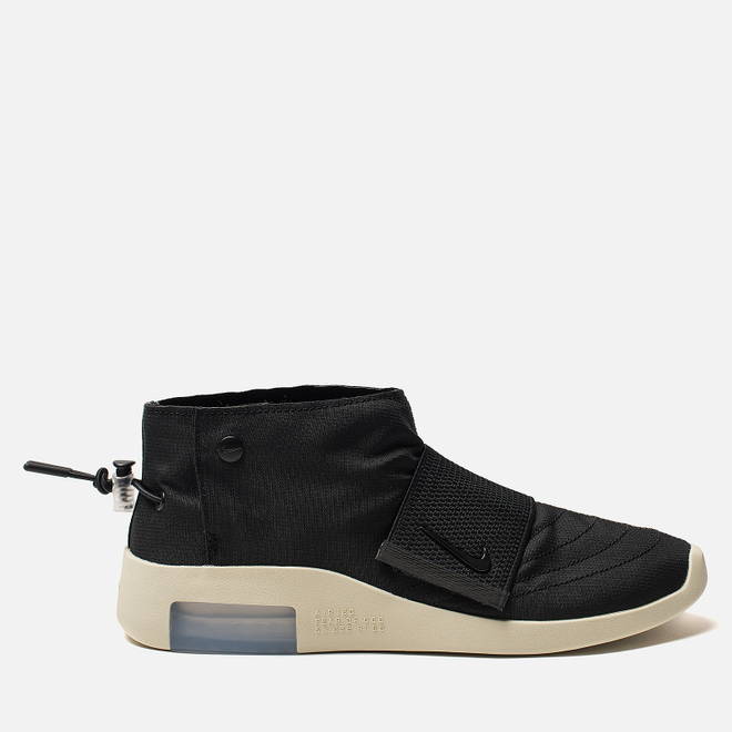 Мужские кроссовки Nike x Fear Of God Air Moccasin Black/Black/Fossil