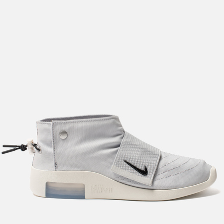Мужские кроссовки Nike x Fear Of God Air Moccasin Pure Platinum/Black/Sail