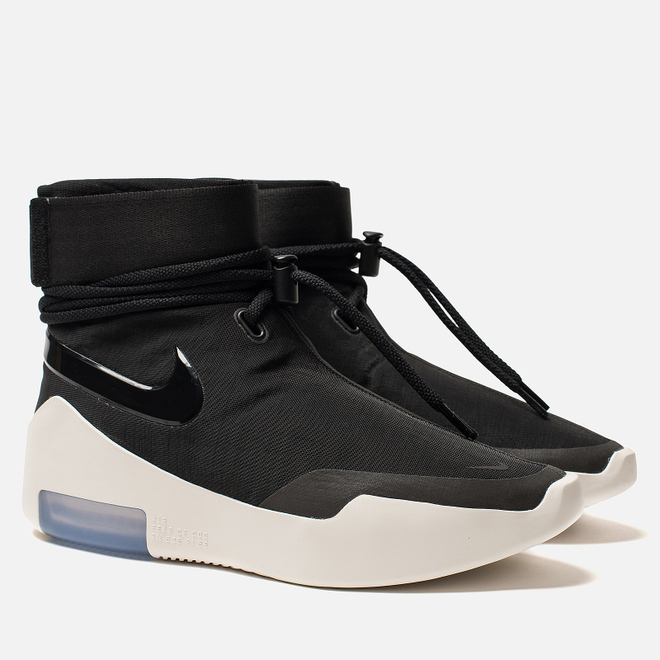 Мужские кроссовки Nike x Fear Of God Air Shoot Around Black/Black