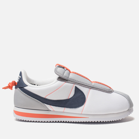 Мужские кроссовки Nike x Kendrick Lamar Cortez Basic Slip White/Wolf Grey/Turf Orange/Thunder Blue