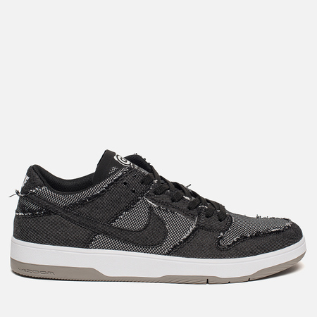 Мужские кроссовки Nike x Medicom Toy SB Zoom Dunk Low Elite QS Black/Black/White/Medium Grey