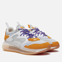 Мужские кроссовки Nike x Odell Beckham Jr. Air Max 720 Pure Platinum/Canyon Gold/Hyper Grape