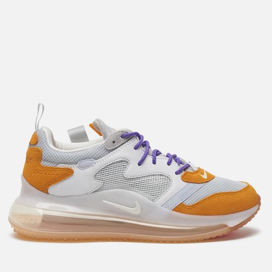 Мужские кроссовки Nike x Odell Beckham Jr. Air Max 720 Pure Platinum/Canyon Gold/Hyper Grape