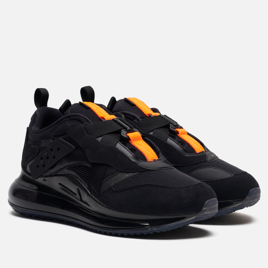 Мужские кроссовки Nike x Odell Beckham Jr. Air Max 720 Slip Black/Black/Total Orange