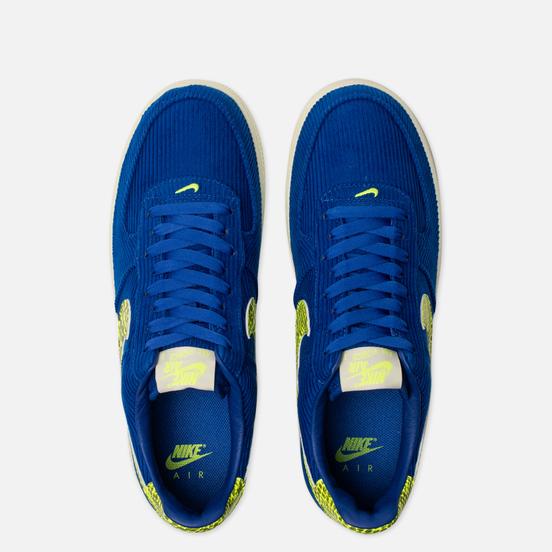 Кроссовки Nike x Olivia Kim Wmns Air Force 1 '07 NXN No Cover Hyper Blue/Volt/Sail