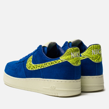 Мужские кроссовки Nike x Olivia Kim Air Force 1 '07 NXN No Cover Hyper Blue/Volt/Sail фото- 2