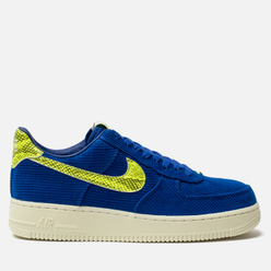 Мужские кроссовки Nike x Olivia Kim Wmns Air Force 1 '07 NXN No Cover Hyper Blue/Volt/Sail