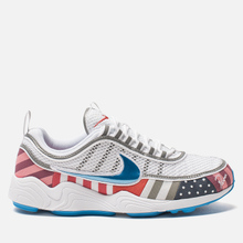 Мужские кроссовки Nike x Parra Air Zoom Spiridon White/Multi Color фото- 0