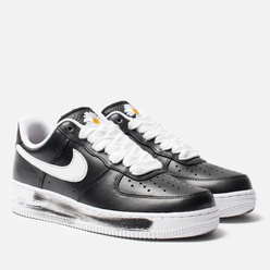 Мужские кроссовки Nike x PEACEMINUSONE Air Force 1 '07 Para-Noise Black/White