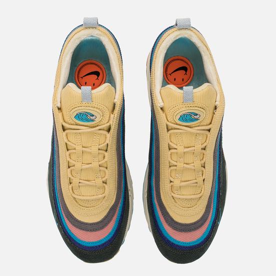 Кроссовки Nike x Sean Wotherspoon Air Max 1/97 VF Light Blue Fury/Lemon Wash