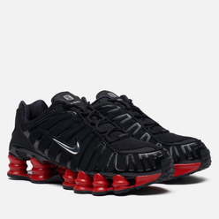 Кроссовки Nike x Skepta Shox TL Black/Metallic Silver/University Red