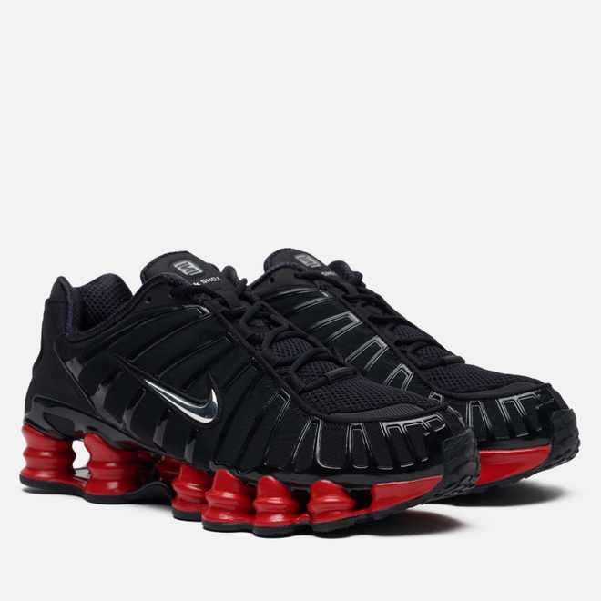 Мужские кроссовки Nike x Skepta Shox TL Black/Metallic Silver/University Red