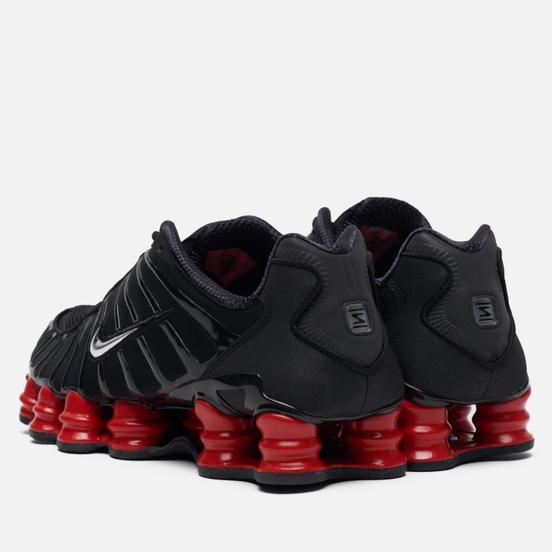Кроссовки Nike x Skepta Shox TL Black/Metallic Silver/University Red