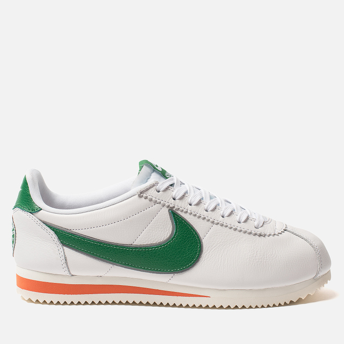 Мужские кроссовки Nike x Stranger Things Classic Cortez QS Hawkins High White/Pine Green/Cosmic Clay/Sail