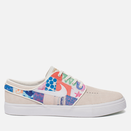 Мужские кроссовки Nike x Thomas Campbell SB Zoom Stefan Janoski Sail/White/Multicolor