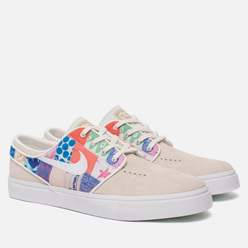 Мужские кроссовки Nike SB x Thomas Campbell Zoom Stefan Janoski Sail/White/Multicolor