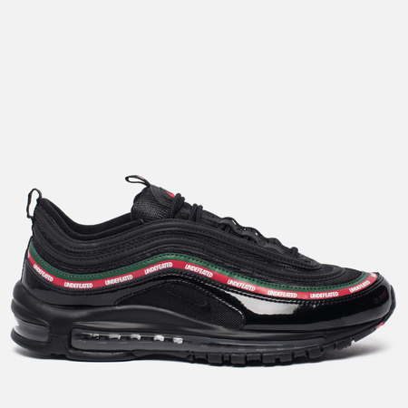 Мужские кроссовки Nike x Undefeated Air Max 97 OG Black/Speed Red/George Green/White