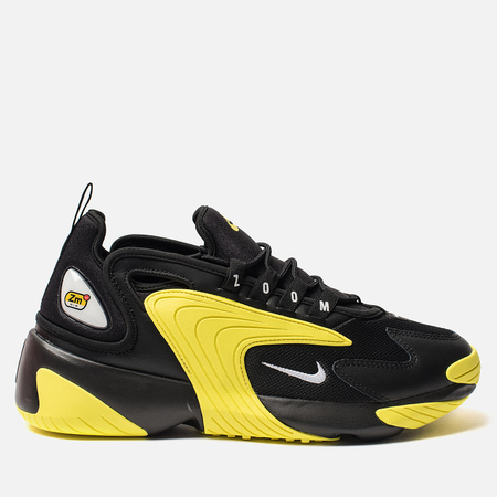 Мужские кроссовки Nike Zoom 2K Black/White/Dynamic Yellow