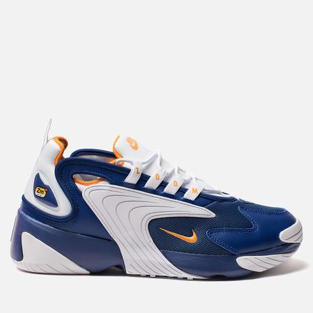 Мужские кроссовки Nike Zoom 2K Deep Royal Blue/Orange Peel/White