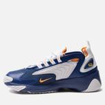 Мужские кроссовки Nike Zoom 2K Deep Royal Blue/Orange Peel/White фото- 2