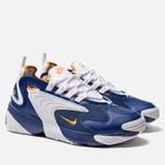Мужские кроссовки Nike Zoom 2K Deep Royal Blue/Orange Peel/White фото- 1