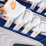 Мужские кроссовки Nike Zoom 2K Deep Royal Blue/Orange Peel/White фото- 6