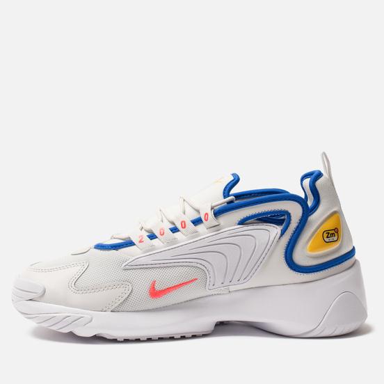 Мужские кроссовки Nike Zoom 2K Platinum Tint/Bright Crimson/White