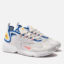 Мужские кроссовки Nike Zoom 2K Platinum Tint/Bright Crimson/White фото- 0
