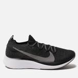 Мужские кроссовки Nike Zoom Fly Flyknit Black/White/Gunsmoke фото- 0