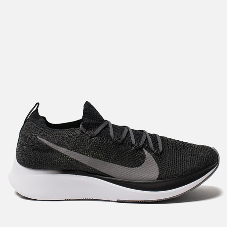 Мужские кроссовки Nike Zoom Fly Flyknit Black/White/Gunsmoke